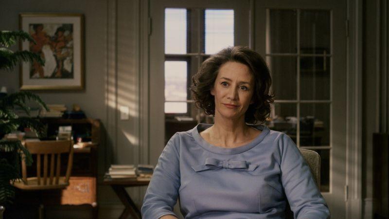 Hannah Arendt: Janet McTeer in un momento del film
