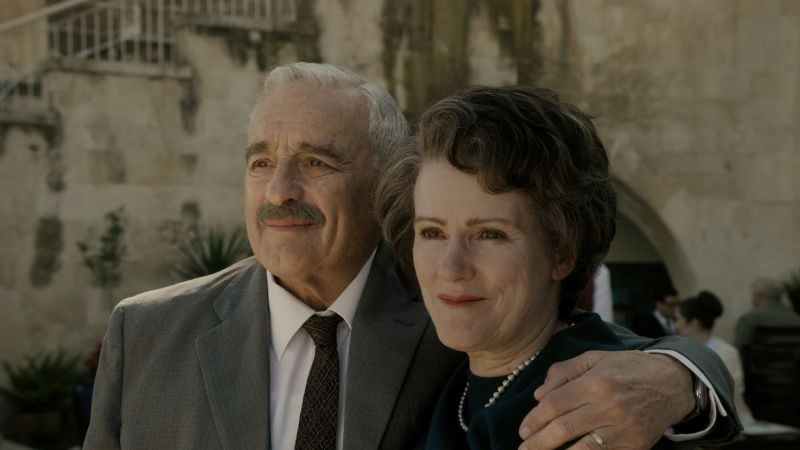 Michael Degen e Barbara Sukowa in Hannah Arendt