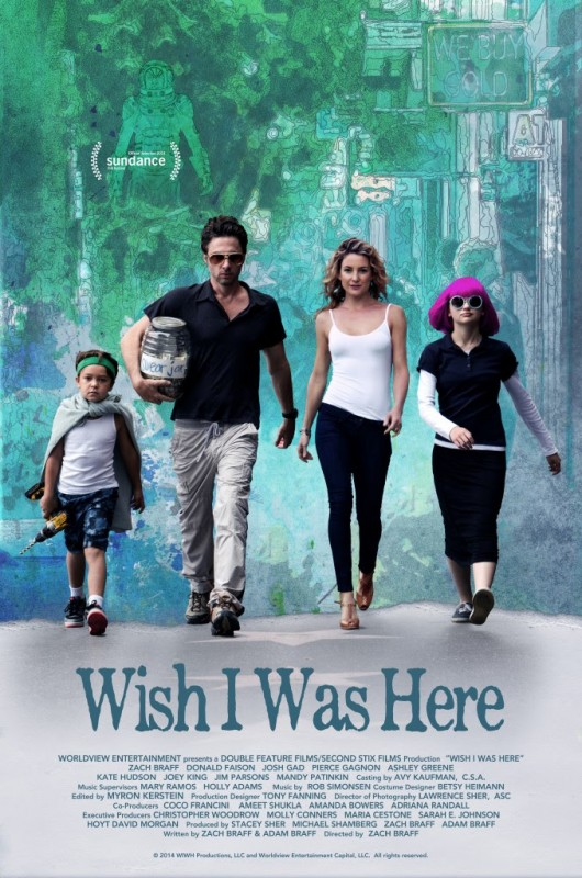 Wish I Was Here: il Sundance poster