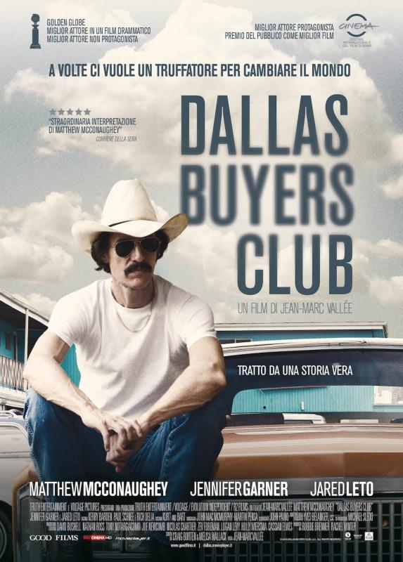 Dallas Buyers Club: la locandina italiana