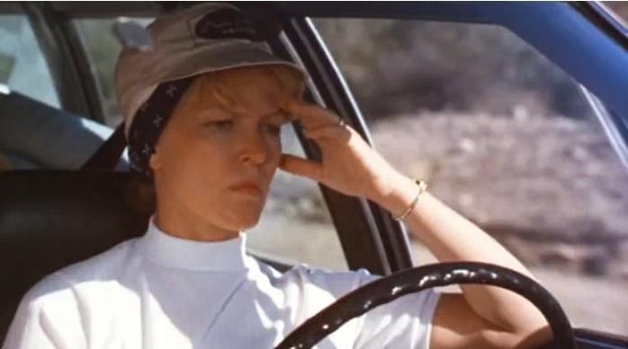 Ellen Burstyn in una scena del film Alice non abita più qu