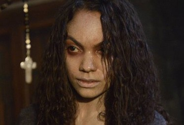 Lyndie Greenwood indemoniata in Vessel, 11esimo episodio di Sleepy Hollow