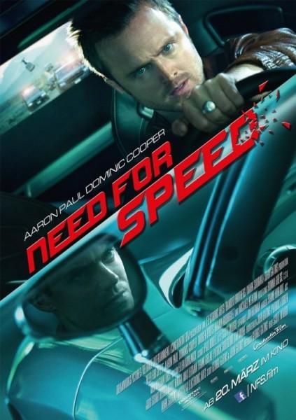 Need for Speed: la nuova locandina ufficiale