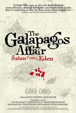 The Galapagos Affair: la locandina del film