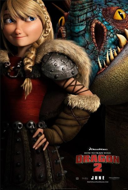 Dragon Trainer 2: il character poster di Astrid