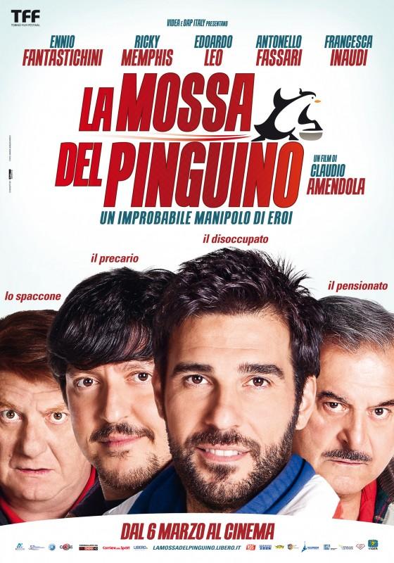 La mossa del pinguino: la locandina ufficiale del film