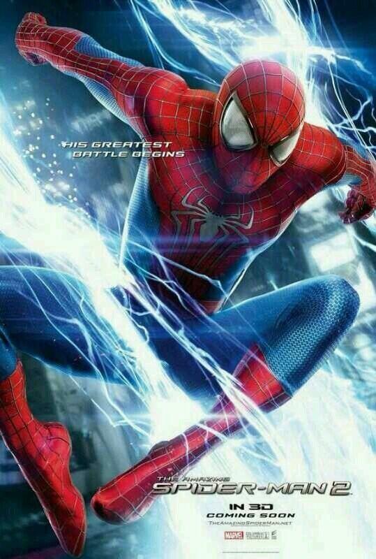 The Amazing Spider-Man 2: un poster mozzafiato