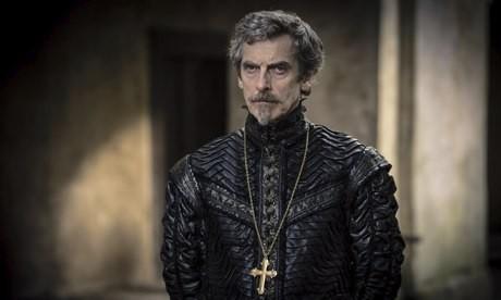 The Musketeers: Peter Capaldi in una scena del primo episodio della serie