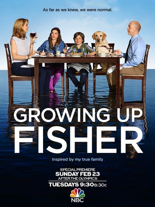 La locandina di Growing Up Fisher