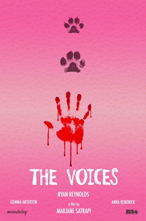 The Voices: la locandina del film