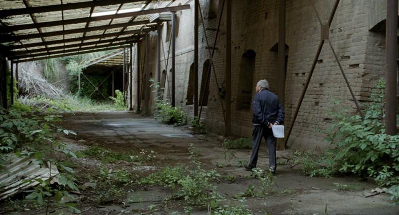 L'ultimo degli ingiusti: il regista Claude Lanzmann in una scena tratta dal documentario