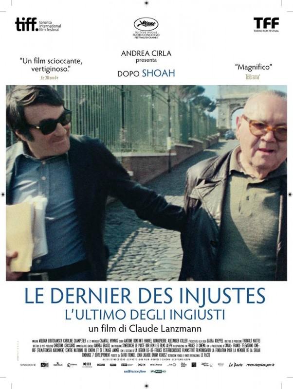 L'ultimo degli ingiusti: la locandina italiana