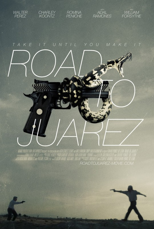 Road to Juarez: la locandina del film