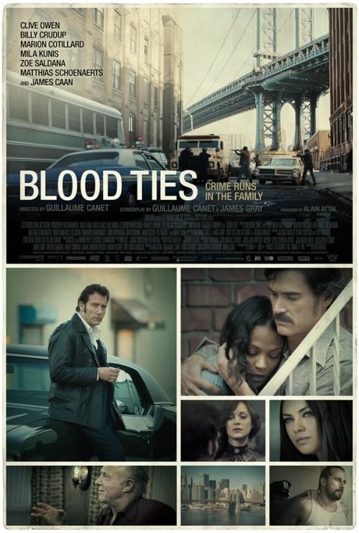 Blood Ties: nuovo poster USA