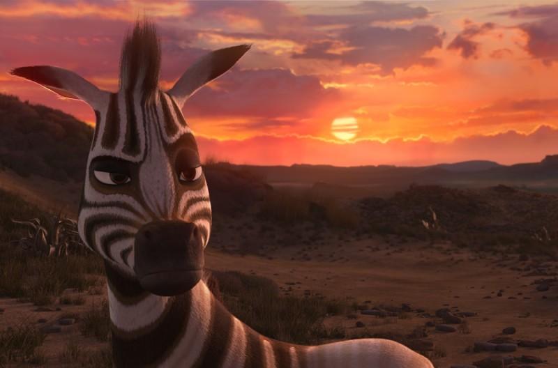 Khumba: la zebra Khumba in una suggestiva immagine del film