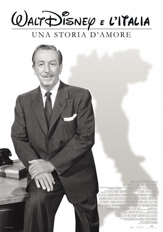 Walt Disney e l'Italia: la locandina del documentario