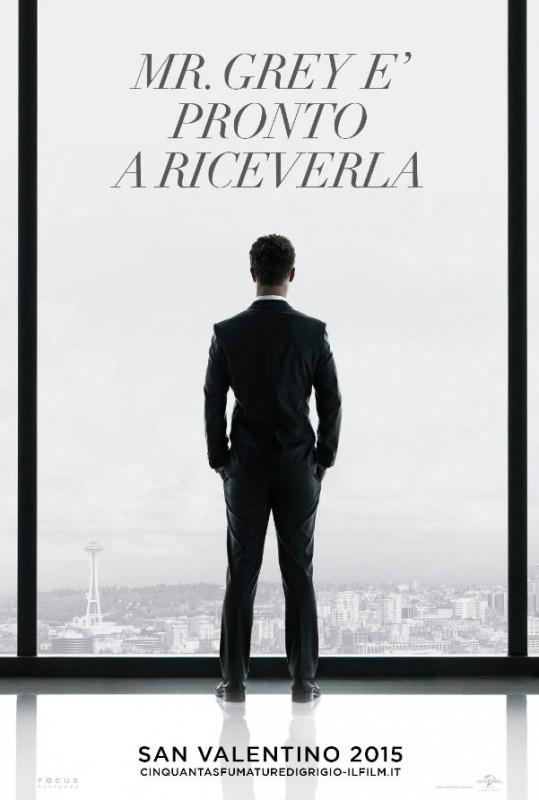 Cinquanta sfumature di grigio: il teaser poster italiano del film