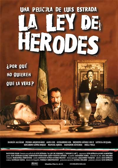 Herod's Law: la locandina del film