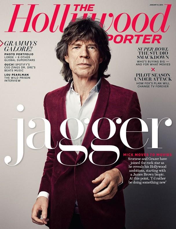 Mick Jagger su The Hollywood Reporter (gennaio 2014)