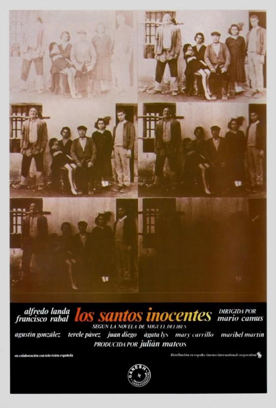 Los santos inocentes: la locandina del film