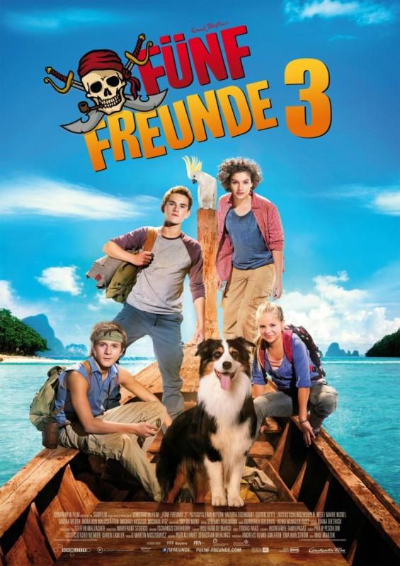 Fünf Freunde 3: la locandina del film