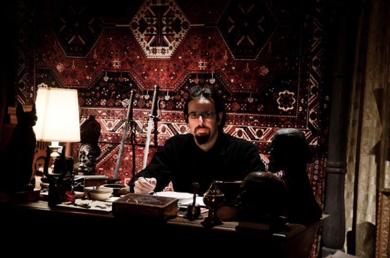 Il mistero di Dante: il regista Louis Nero in una foto promozionale