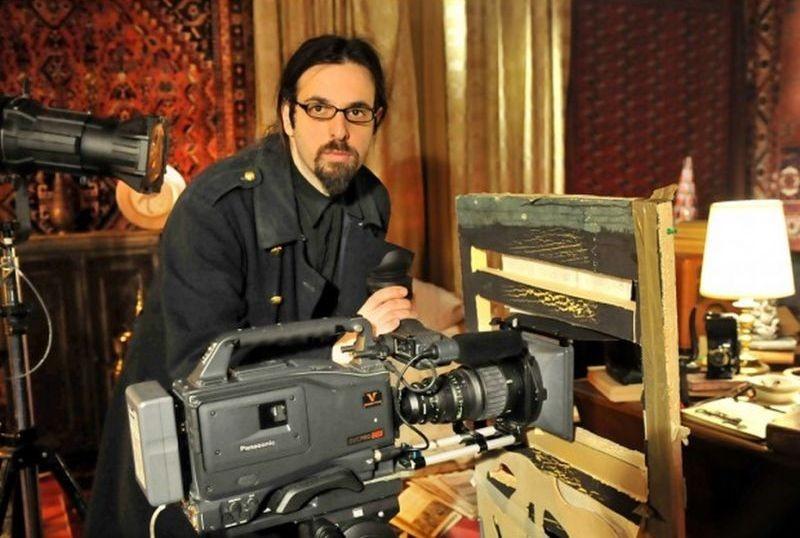 Il mistero di Dante: il regista Louis Nero sul set
