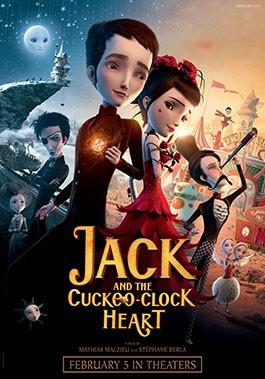 Jack and the Cuckoo-Clock Heart: la locandina del film