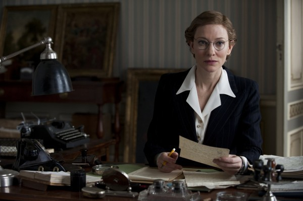 The Monuments Men: Cate Blanchett alla scrivania