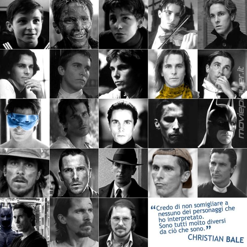 Christian Bale - la nostra e-card da condividere sui social
