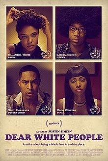 Dear White People: la locandina del film
