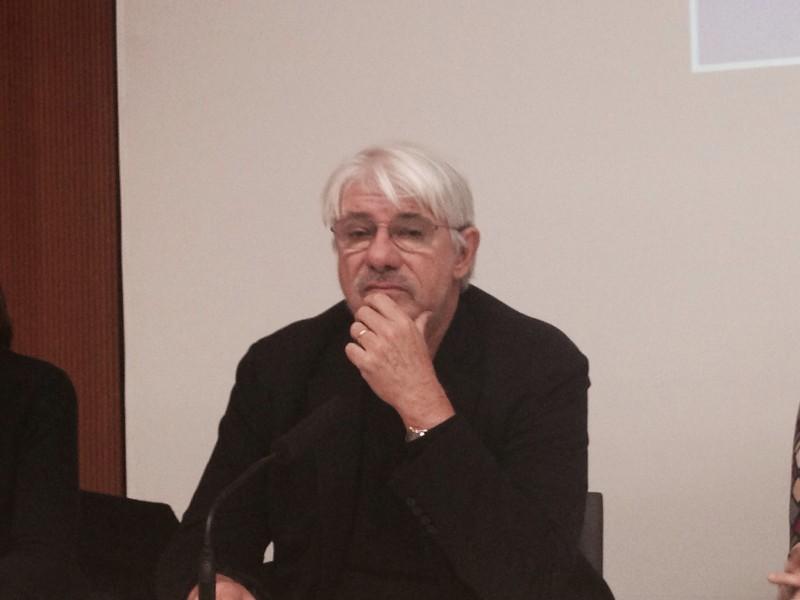 L'assalto: Ricky Tognazzi alla conferenza di presentazione della fiction a Milano