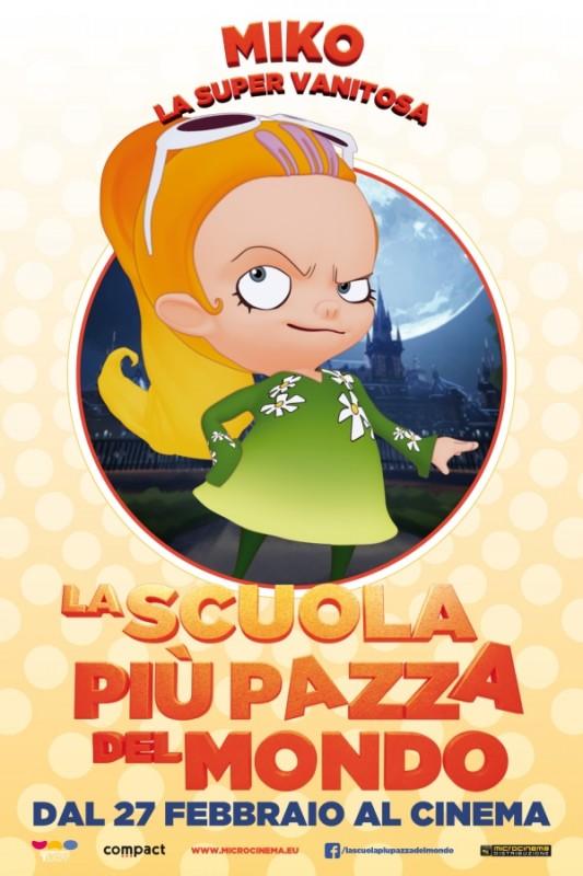 La scuola più pazza del mondo: il character poster di Miko