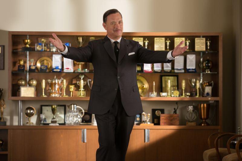 Saving Mr. Banks: Tom Hanks è Walt Disney in una scena del film