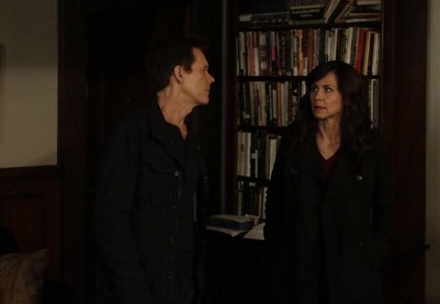 The Following: Kevin Bacon e Valerie Cruz nell'episodio For Joe