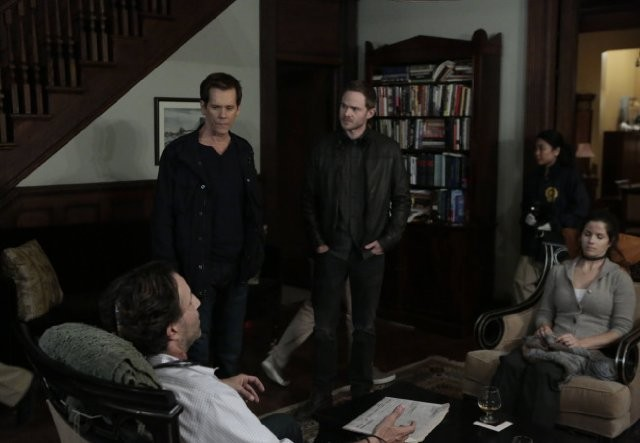 The Following: Kevin Bacon in una foto di scena dell'episodio For Joe