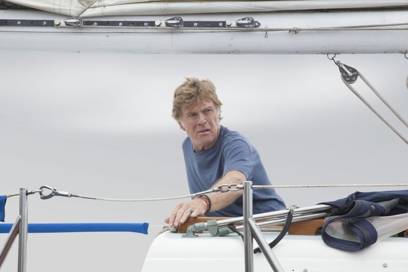 All Is Lost: Robert Redford in un difficile momento del film