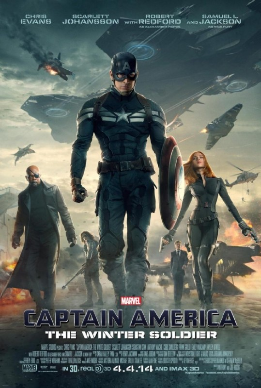 Captain America: The Winter Soldier: la locandina del film