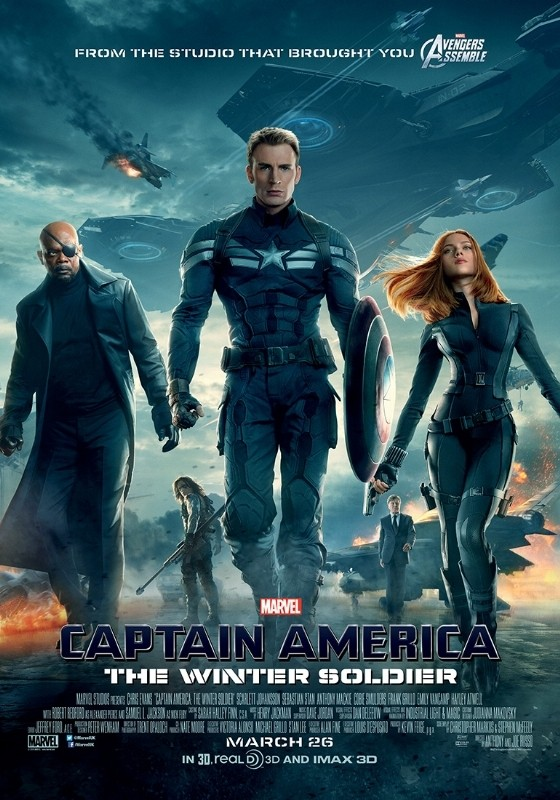 Captain America: The Winter Soldier: la  nuova locandina del film