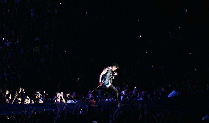 Justin Bieber: Believe, un'immagine dal film concerto