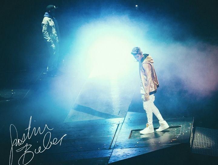 Justin Bieber: Believe, un'immagine dal film concerto del cantante