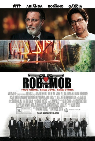 Rob the Mob: la locandina del film