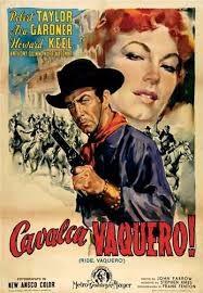 Cavalca vaquero: la locandina del film