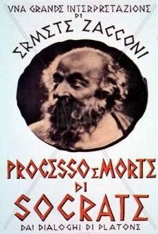 Processo e morte di Socrate: la locandina del film