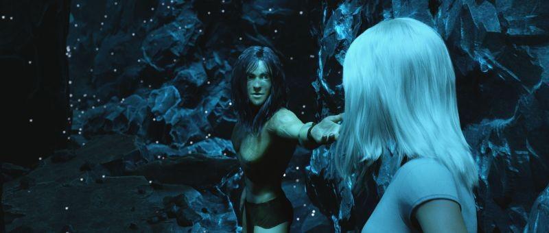 Tarzan: una scena del film animato