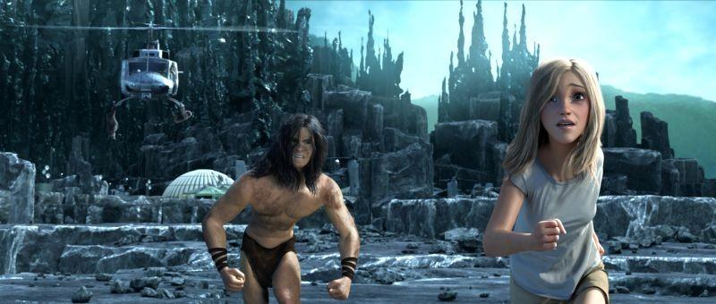 Tarzan: una scena tratta dal film animato