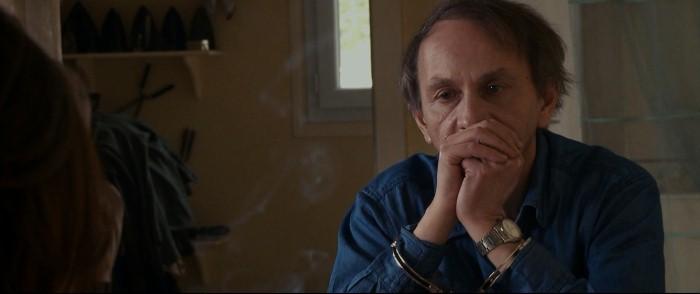 The Kidnapping of Michel Houellebecq: lo scrittore e saggista francese Michel Houellebecq in una scena del documentario