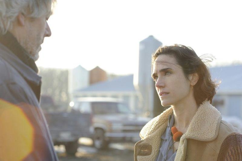 Aloft: Jennifer Connelly in una scena del film con William Shimell
