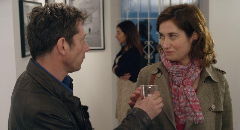 I you don't, I will: Emmanuelle Devos con Mathieu Amalric in un momento del film