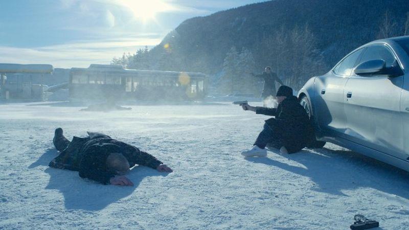 In Order of Disappearance: una scena d'azione tratta dal film